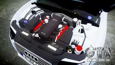 Audi RS5 2012 v2.0 para GTA 4 vista lateral