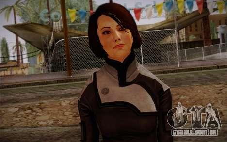 Ann Bryson from Mass Effect 3 para GTA San Andreas terceira tela