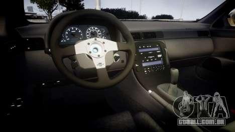 Lexus SC300 1997 para GTA 4 vista interior