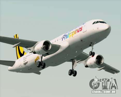 Airbus A320-200 Tigerair Philippines para o motor de GTA San Andreas