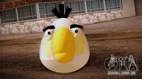 White Bird from Angry Birds para GTA San Andreas terceira tela