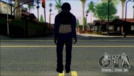Chinese Jet Pilot from Battlefield 4 para GTA San Andreas segunda tela