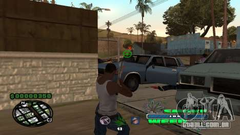 C-HUD Smoke Weed para GTA San Andreas terceira tela