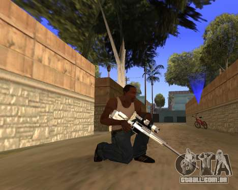 Clear weapon pack para GTA San Andreas quinto tela