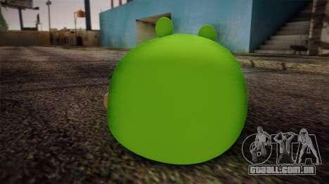 Pig from Angry Birds para GTA San Andreas segunda tela