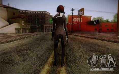 Ann Bryson from Mass Effect 3 para GTA San Andreas segunda tela