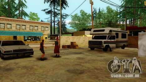 Recuperação de estações de Los Santos para GTA San Andreas terceira tela