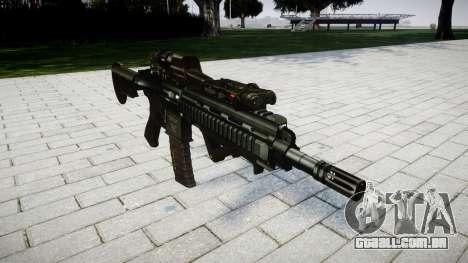 Rifle HK416 CQB para GTA 4