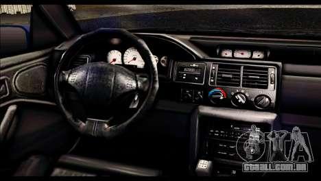 Ford Escort RS Cosworth para vista lateral GTA San Andreas