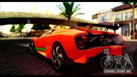 GTA 5 Pegassi Infernus [HQLM] para GTA San Andreas esquerda vista