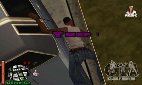 С-HUD Medic para GTA San Andreas por diante tela