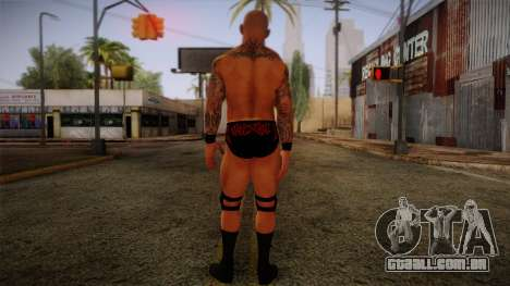 Randy Orton from Smackdown Vs Raw para GTA San Andreas segunda tela