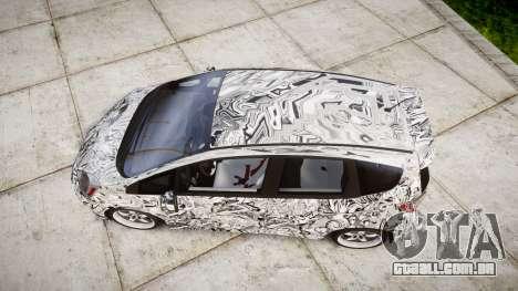 Honda Fit 2006 Sharpie para GTA 4 vista direita