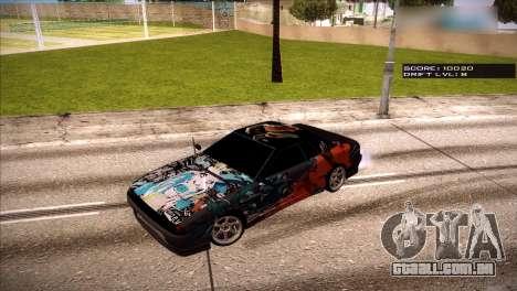 Vinis para Elegia para GTA San Andreas quinto tela