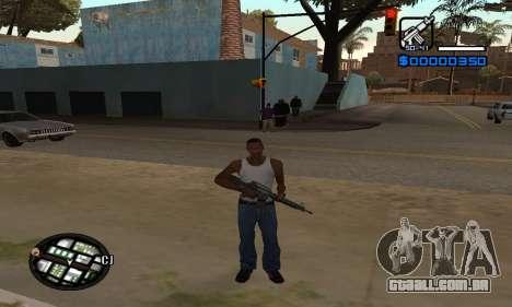 Samaro C-HUD para GTA San Andreas