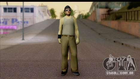 GTA San Andreas Beta Skin 6 para GTA San Andreas