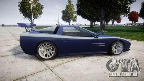Invetero Coquette X para GTA 4 esquerda vista