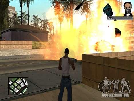 Marusya C-HUD para GTA San Andreas terceira tela