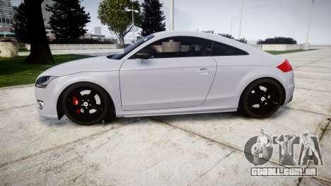 Audi TT RS 2010 para GTA 4 esquerda vista