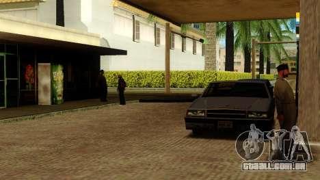 Recuperação de estações de Los Santos para GTA San Andreas nono tela