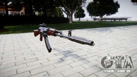 A AK-47 Colimador e o Focinho de freio para GTA 4