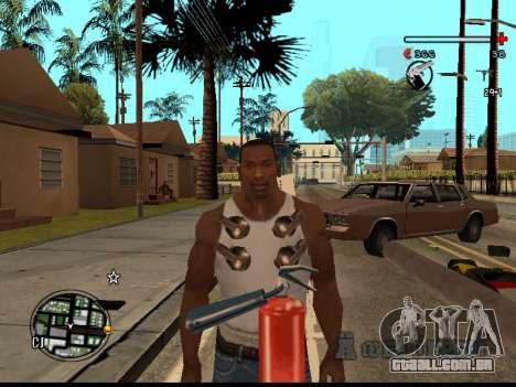C-HUD Good para GTA San Andreas quinto tela