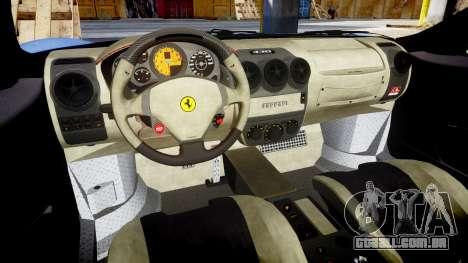 Ferrari F430 Scuderia 2007 plate Scuderia para GTA 4 vista interior