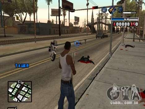C-HUD Fantastik para GTA San Andreas terceira tela