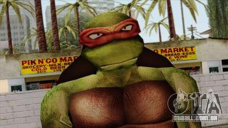 Rafael (Teenage Mutant Ninja Turtles) para GTA San Andreas terceira tela