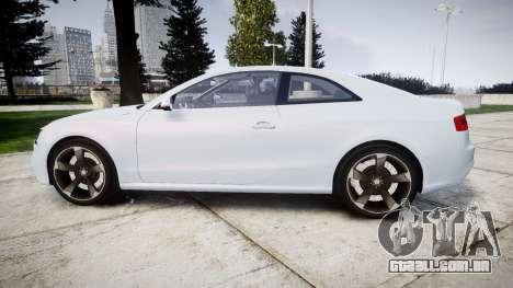 Audi RS5 2012 v2.0 para GTA 4 esquerda vista