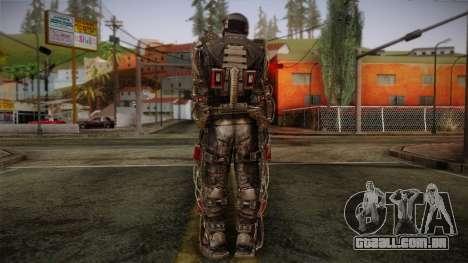 Duty Exoskeleton para GTA San Andreas segunda tela