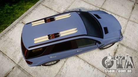 GTA V Benefactor Serrano 4x4 para GTA 4 vista direita