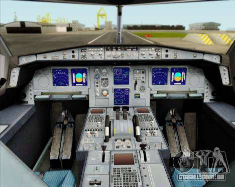 Airbus A330-300 Air Canada Star Alliance Livery para GTA San Andreas interior