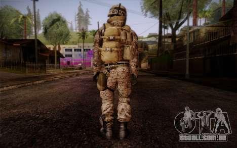 Campo from Battlefield 3 para GTA San Andreas segunda tela