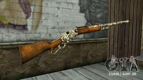 Novo Rifle para GTA San Andreas segunda tela