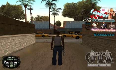 C-HUD Tawer GTA 5 para GTA San Andreas segunda tela