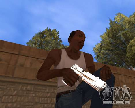 Clear weapon pack para GTA San Andreas segunda tela