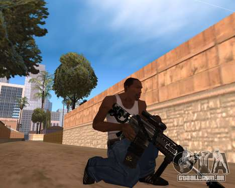 Hitman Weapon Pack v1 para GTA San Andreas segunda tela