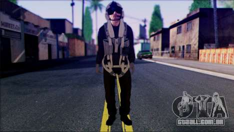 Russian Helicopter Pilot from Battlefield 4 para GTA San Andreas