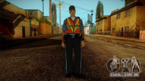 Missouri Highway Patrol Skin 1 para GTA San Andreas