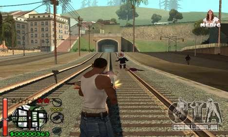 С-HUD Medic para GTA San Andreas terceira tela