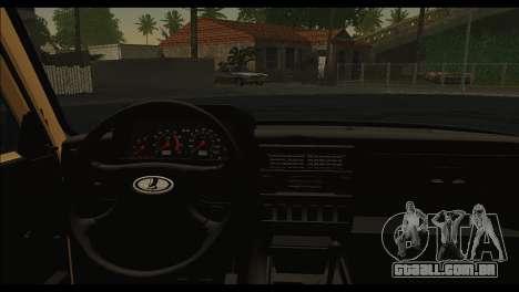Lada 4x4 Urban para GTA San Andreas traseira esquerda vista