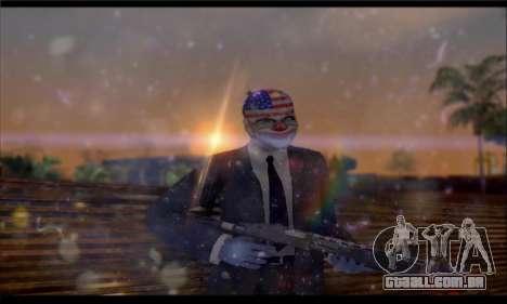 Corsar PayDay 2 ENB para GTA San Andreas quinto tela