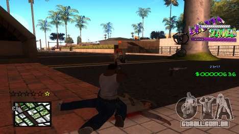 C-HUD Ghetto Tawer para GTA San Andreas segunda tela