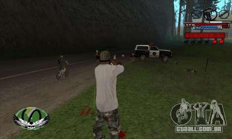 C-HUD by Kir4ik para GTA San Andreas terceira tela