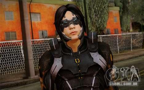 Kei Leng from Mass Effect 3 para GTA San Andreas terceira tela