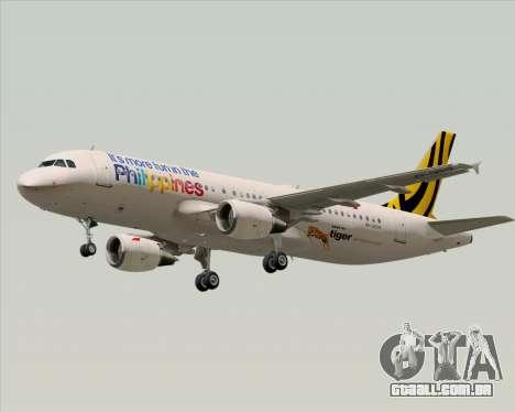 Airbus A320-200 Tigerair Philippines para as rodas de GTA San Andreas
