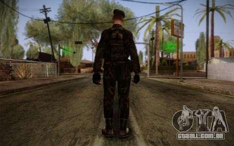 Soldier Skin 2 para GTA San Andreas segunda tela
