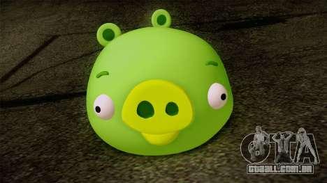 Pig from Angry Birds para GTA San Andreas terceira tela