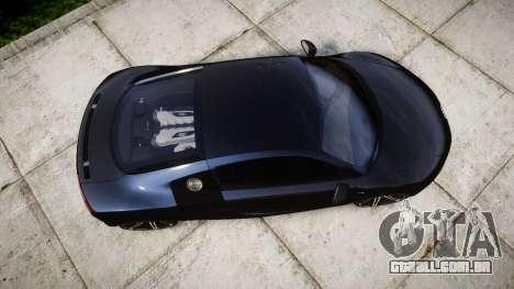 Audi R8 plus 2013 HRE rims para GTA 4 vista direita